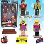 The Big Bang Theory Minimates Sets 1 & 2