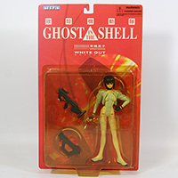 Ghost In The Shell White Out Action Figure 2005 MOC