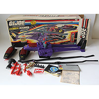 Vintage G.I. Joe Cobra Mamba Helicopter with Box
