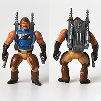 Vintage Masters of the Universe Rio Blast Figure