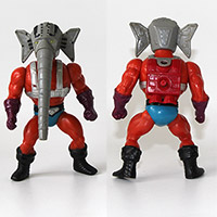 Vintage Masters of the Universe Snout Spout Figure