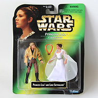 Star Wars POTF Princess Leia Collection Ceremonial Leia/Luke Skywalker