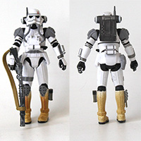 Star Wars Imperial Evo Trooper Force Unleashed 30th Anniversary Loose Action Figure