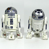 Star Wars Episode II 2 Attack of the Clones R2-D2 Coruscant Sentry Figure