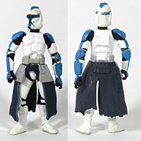 Star wars 30th Clone Trooper Hunt for Grievous Loose Action Figure