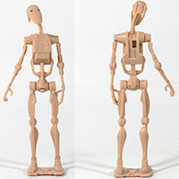 Star Wars MTT Droid Carrier -  Battle Droid Loose Action Figure
